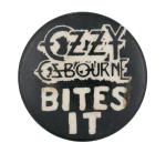 Ozzy Osbourne Bites It Music Button Museum