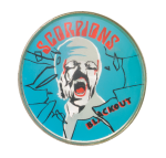 Scorpions Blackout Sparkley Music Button Museum