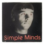 Simple Minds Music Button Museum