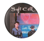 Soft Cell Music Button Museum