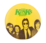 The Kinks Low Budget Music Button Museum