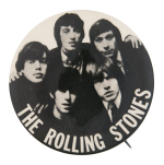 The Rolling Stones North American Tour 1966 Music Button Museum