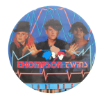 Thompson Twins Music Button Museum