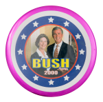 Bush 2000 Political Button Museum