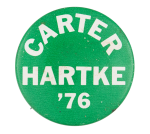 Carter Hartke '76 Political Button Museum