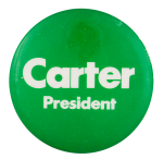 Carter President Political Button Museum