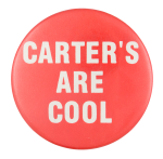 Carter's Are Cool Political Button Museum