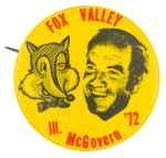 Fox Valley Illinois McGovern Political Button Museum