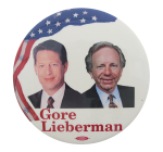 Gore Lieberman Political Button Museum