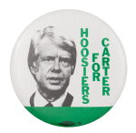 Hoosiers for Carter Political Button Museum