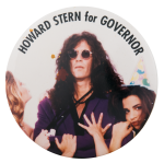 Howard Stern for Governor Political Button Museum