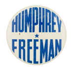 Humphrey Freeman Political Button Museum