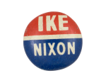 Ike Nixon Political Button Museum