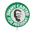 Jimmy Carter for President Political Button Museum