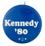Kennedy 1980 Political Button Museum