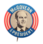 McGovern For President Political Button Museum