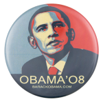Obama Shepard Fairey Political Button Museum