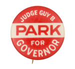 Park for Governor Political Button Museum