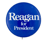 Reagan for President Political Button Museum