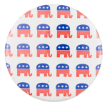 Republican Elephants Political Button Museum