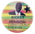 Rickey Hendon Political Button Museum