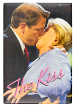 The Kiss Al and Tipper Gore Political Button Museum