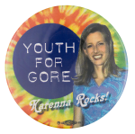 Youth for Gore Political Button Museum