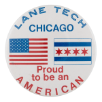 Lane Tech Proud Schools Button Museum