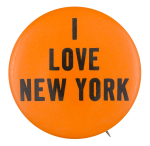 I Love New York Social Lubricators  Button Museum