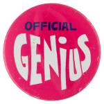 Official Genius Social Lubricators Button Museum