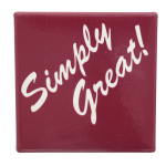 Simply Great Social Lubricators Button Museum