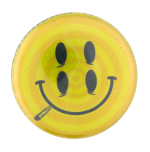 Double Eyed Smiley Smileys Button Museum
