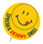 Spread a Skippy Smile Smileys Button Museum