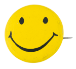 Yellow Smiley 6 Smileys Button Museum