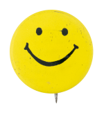 Yellow Smiley 9 Smileys Button Museum