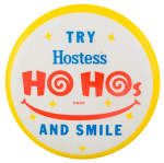 Ho Hos and a Smile Smileys Button Museum