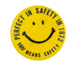 NW Means Safety Smileys Button Museum
