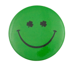 Shamrock Eyes Smileys Button Museum