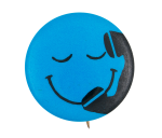 Telephone Smiley Smileys Button Museum