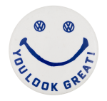 Volkswagen Smiley Smileys Button Museum
