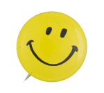 Yellow Smiley 13 Smiley Button Museum