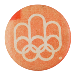 1976 Summer Olympics Event Button Museum