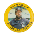 Bill Madlock Pittsburgh Pirates Sports Button Museum