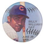 Billy Williams Day Sports Button Museum