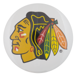 Chicago Blackhawks Logo Chicago Button Museum