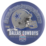 Dallas Cowboys Rose Bowl Sports Button Museum