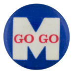 Go Go M Sports Button Museum