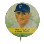 Kiki Cuyler Chicago Cubs Chicago Button Museum