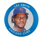 Lee Smith Chicago Cubs Sports Button Museum