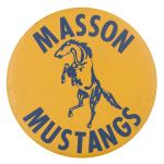 Masson Mustangs Sports Button Museum